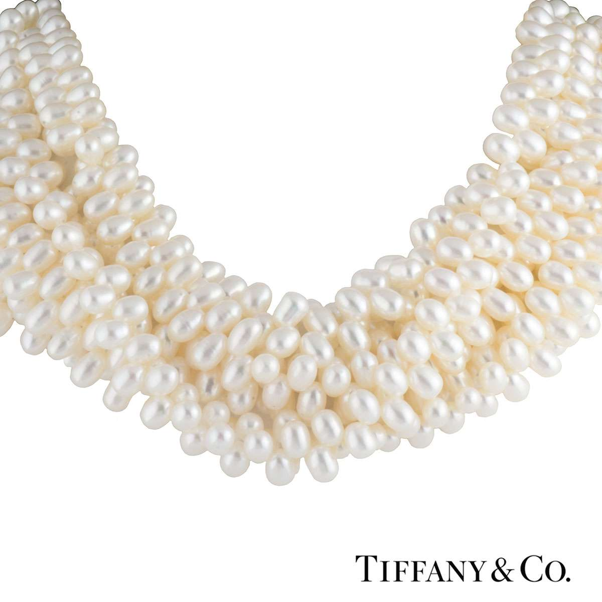 Tiffany & Co. Paloma Picasso Pearl Torsade Necklace